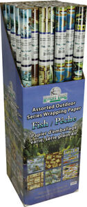 River's Edge Fishing Wrapping Paper 36/Rolls - New