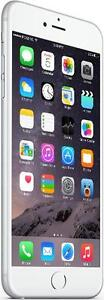 iPhone 6 Plus 16 GB Silver Fido -- 30-day warranty and lifetime blacklist guarantee