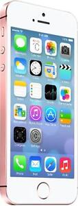 iPhone SE 16 GB Rose-Gold Unlocked -- 30-day warranty, blacklist guarantee, delivered to your door