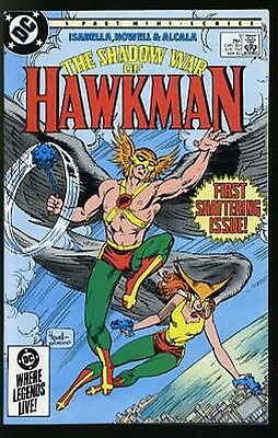 SHADOW WAR OF HAWKMAN #1-4 NEAR MINT COMPLETE SET 1985