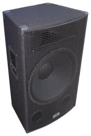 """18"""" 350 watts RMS full range new out of package never used"""