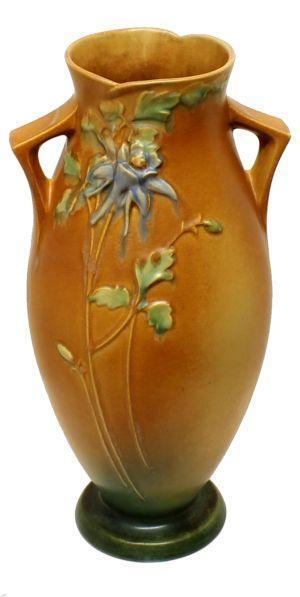 Roseville Floor Vase Ebay