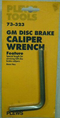 NOS! PLEWS GM DISC BRAKE CALIPER WRENCH, No. - Disc Brake Caliper Wrench