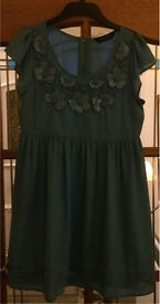 Dorothy Perkins Blue Dress Size 14 RRP £39.99