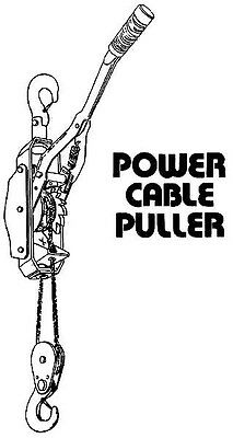 2 Ton Cable Puller Come Along