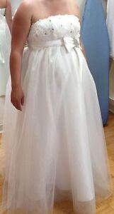 Robe de mariage ou de bal AJUSTABLE