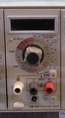 Tektronix Dm 502 Digital Multimeter Plugin Dm502