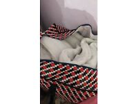 3 blankets for sale - doubles and singles