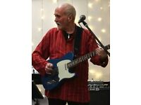 Country , Rockabilly, also blues and 60s to 80s pop Lead Guitarist Available