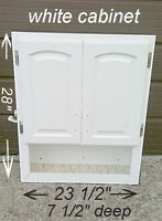 white cabinet *used*