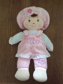 My first Dolly soft baby toy