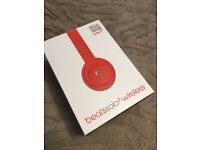 Beats Solo 3 Wireless Headphones - Special Edition (Product) Red