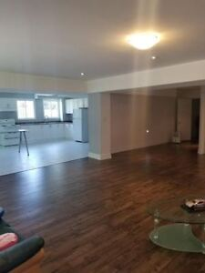 MASSIVE, BRIGHT WALK OUT 1 BDRM BSMT APT IN PICKERING FOR LEASE!