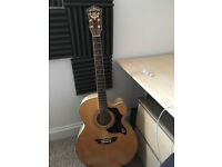 Electric acoustic guitar washburn cumberland