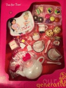 American Girl/Our generation Doll Tea Set
