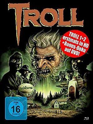 Mediabook TROLL 1 & 2 UNCUT Limited Collector's Edition 2 BLU-RAY + DVD Box NEU