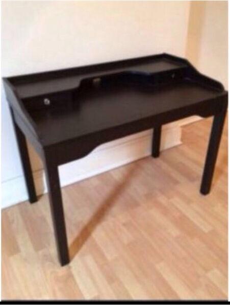 Ikea gustav  IKEA GUSTAV DESK - BLACK   in Southside, Glasgow   Gumtree