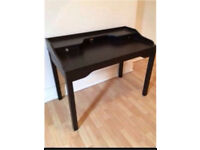IKEA GUSTAV DESK - BLACK