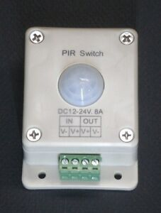 LED-LIGHTING-MOTION-DETECTOR-SWITCH-12-24-VOLT-DC-8-AMP-LIGHT-PIR1