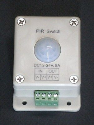 Led Light Motion Activated Switch 12 Volt Dc Lighting Control Strips String Flex