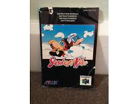 Snowboard Kids Instruction Manual N64