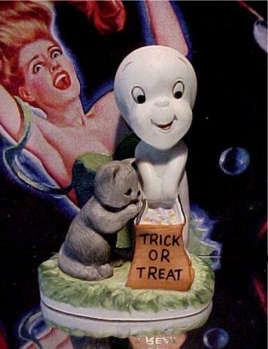 Casper The Friendly Ghost Porcelain Figurine 1986 Harvey Publications Comics