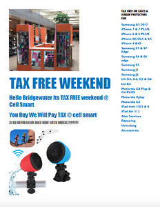 MOTHER'S DAY TAX FREE WEEKEND @ CELL SMART