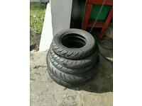 Used motorcycle tyres,joblot