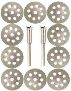 Dremel Cutting Wheels Grinder Diamond Circular Saw Blade Glass Grinding Discs