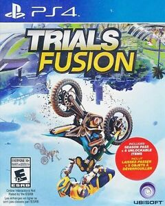 TRIALS FUSION PS4 BRAND NEW FACTORY SEALED !!