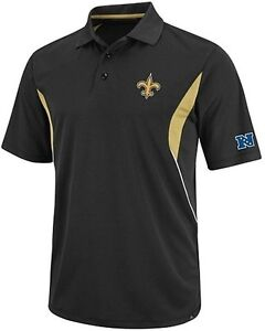 New Orleans Saints Nfl Mens Field Classic Dri Fit Polo