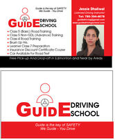 GUIDE DRIVING SCHOOL Edmonton