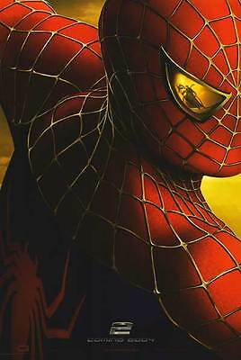 Spider Man 2 Version Coming Soon Movie Poster 27X40 Two Sided  Original