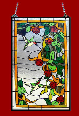 Tiffany Style Stained Glass Window Panel 32