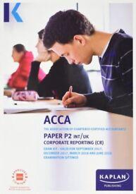 ACCA P2 Corporate Reporting - Kaplan Exam Kit