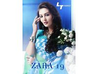 LT ZARA VOL-19 WHOLESALE PRINTED INDIAN SAREE