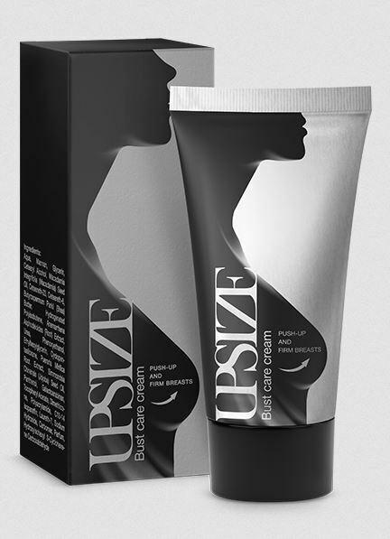 (59,90100ml) Upsize Bust care cream Push up cream by Hendels Garden 50ml