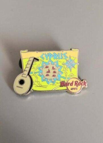 Hard Rock Cafe Cyprus Original Pin !!VERY RARE PIN!!