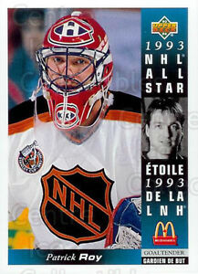 1993-94 McDonald's hockey cards (27 card set, no CL/holograms)