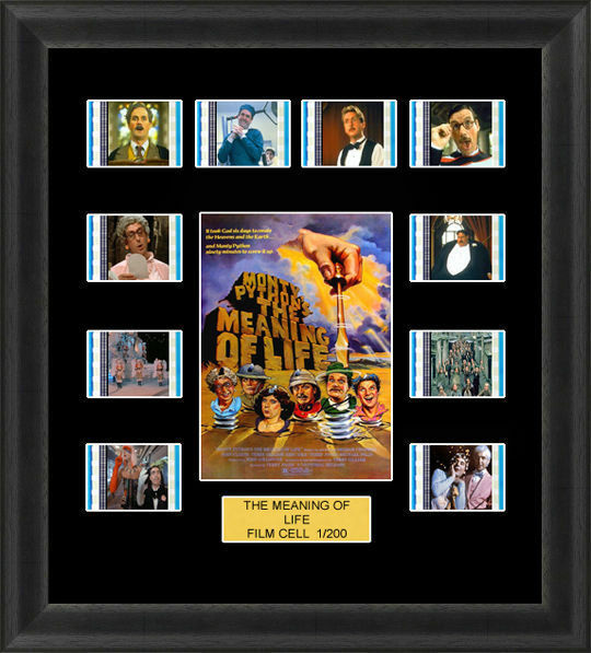 Backlight Monty Python The Meaning of Life Framed 35mm Film Cell Backlit
