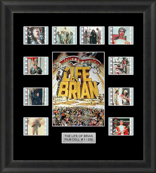 Backlight The Life of Brian Framed 35mm Film Cell Backlit Movie Cell