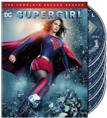 Supergirl: The Complete Second Season 2 (DVD, 2017, 5-Disc Set)