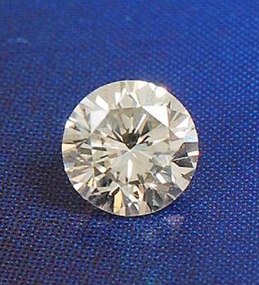 Round 2.5 mm Real VVS D White Sapphire Brilliant Diamond Cut Solitaire Single