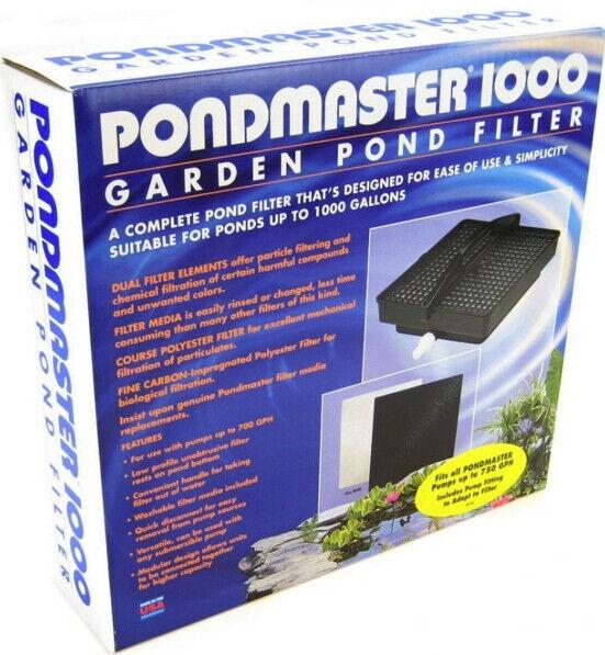 Pondmaster 1000 Garden Pond Filter