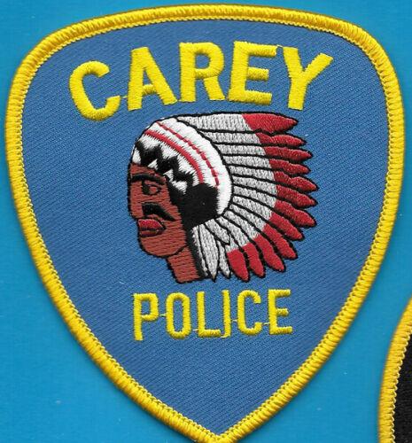 CAREY OHIO OH POLICE DEPT INDAIN MOTIF WAR HEAD DRESS CPD PD (FIRE)