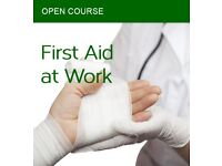First Aid at Work (Level 3 Award) & Emergency First Aid at Work courses
