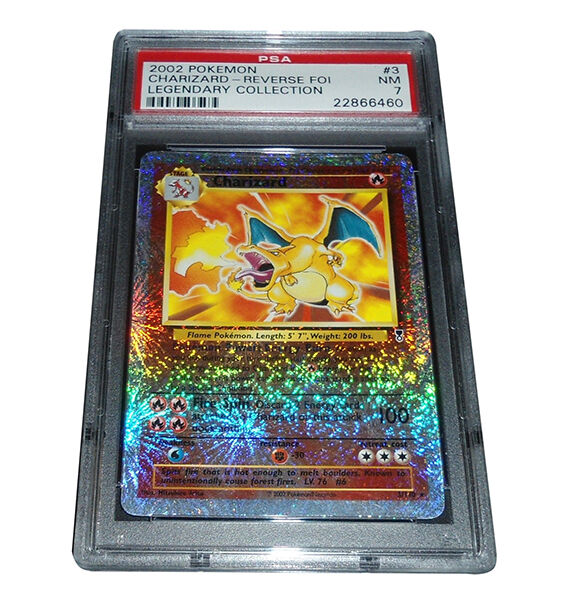 Not as rare as regular holographic cards reverse holo cards feature