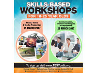 Skills based workshops in March