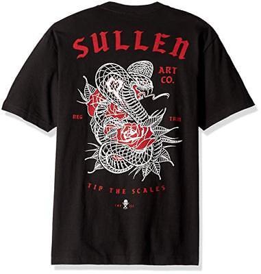 Punk Art T-shirt - Sullen Clothing Tip The Scales King Cobra Roses Punk Tattoos Art T Shirt SCM2094
