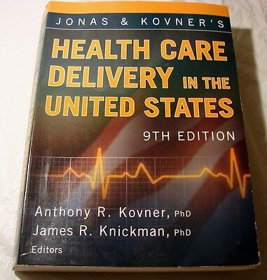 Health Care Delivery In The United States 9Th Edition  2008